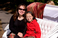 JMU Mother's Day Carriage Rides at the Arboretum