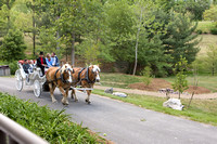 JMU Commencement Day Carriage Rides at the Arboretum